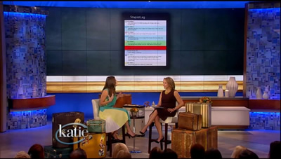 Katie Couric Show / Travel+Leisure: Stop Jet Lag Agenda