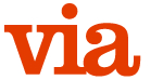 'Via Magazine' logo