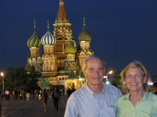 Photo of Rosie and Ladd Jones in Russia